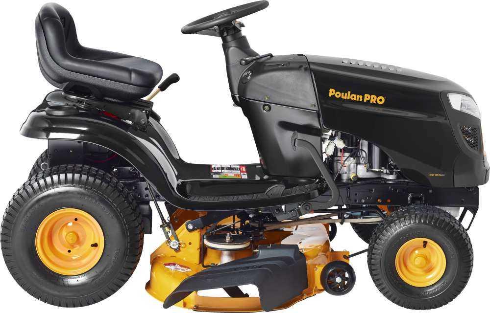 Poulan Pro 960420182 Powerbuilt 42 Inch 15 5 Hp Riding