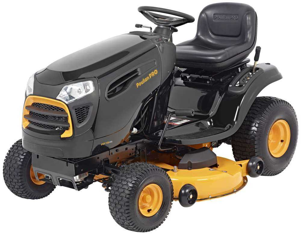 Poulan Pro 960420190 Intek 46 Inch 19 Hp Riding Mower At