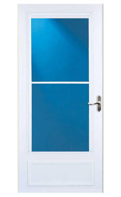 Larson Doors 83082031 32 Inch White Screen Away Storm Door