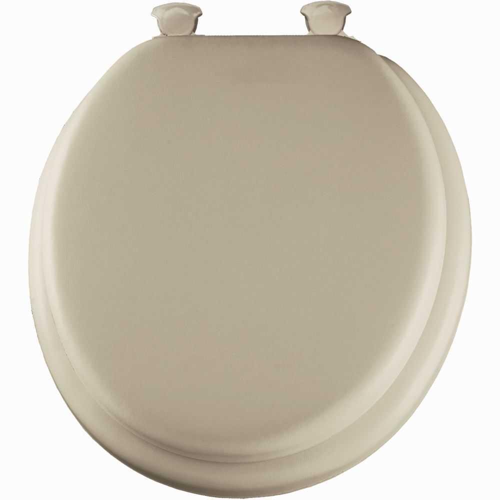 Mayfair Bemis 13ec 006 Round Cushioned Vinyl Soft Toilet