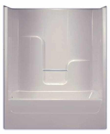 Aquarius Bathware G6004TSL Endurance Lh White Fiberglass