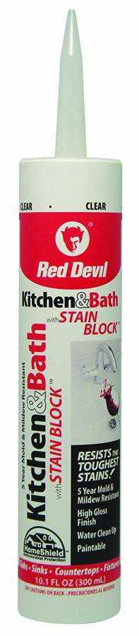 Red Devil Kitchen Bath Adhesive Caulk