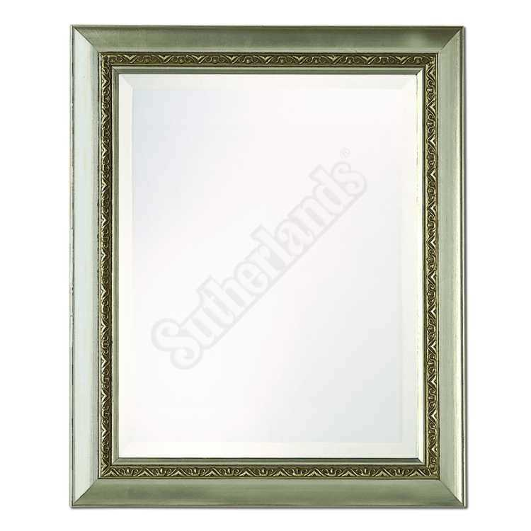 Home decor innovations 20 9154 framed beveled mirror Home decor innovations