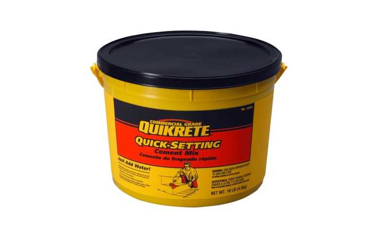 Quick Setting Cement : Quikrete quick setting cement lb at sutherlands