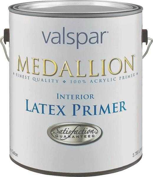 Valspar 190 Medallion Interior Latex Primer White 1 Gal at Sutherlands