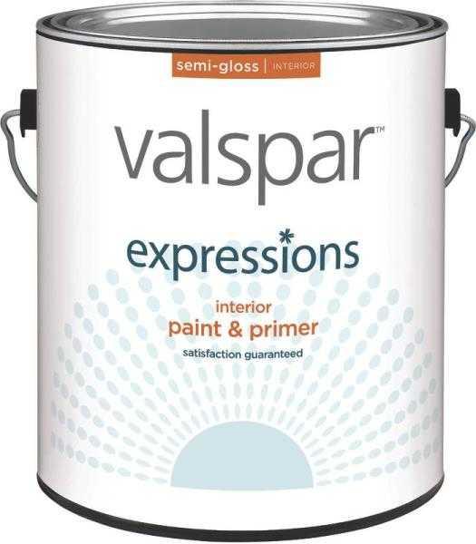 Valspar 17064 expressions latex paint semi gloss clear - Valspar integrity exterior paint ...