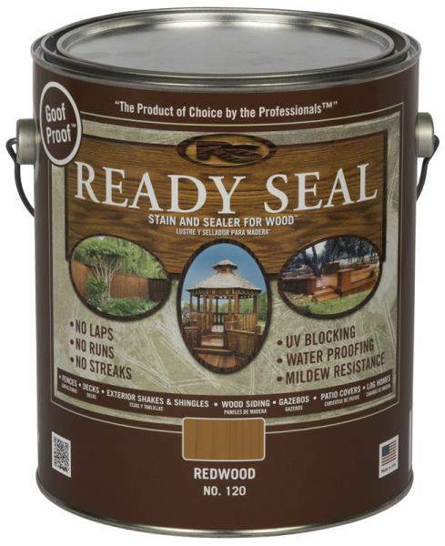 Ready Seal 120 Redwood Exterior Wood Stain And Sealer Gallon At Sutherlands