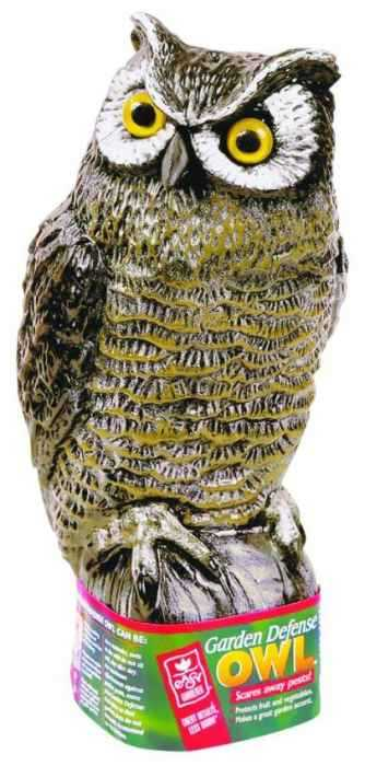 Attractive Easy Gardener 8001 Garden Defense Owl Scarecrow