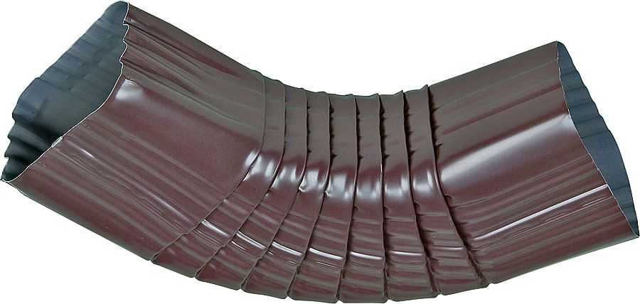 Amerimax 1187749 Brown Aluminum Downspout Elbow 2x3 At Sutherlands
