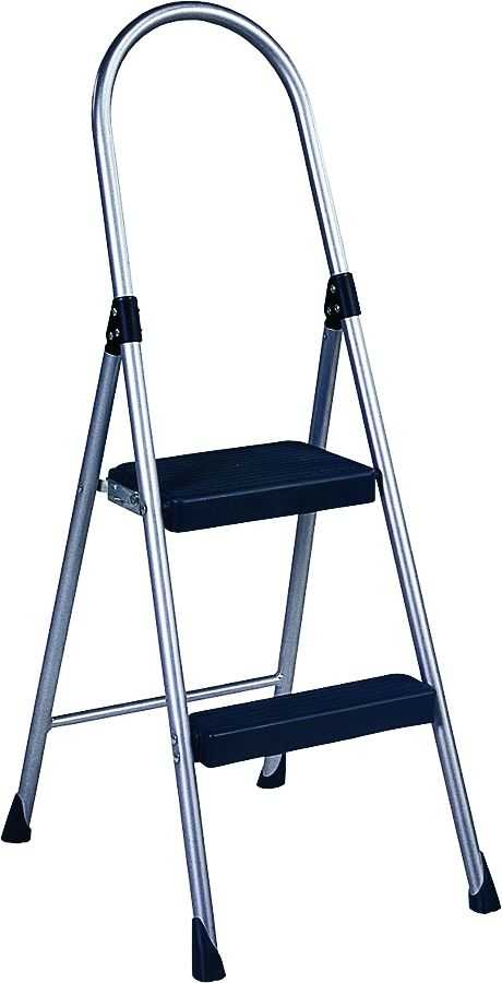 Cosco Products 11135clgg4 Two Step Folding Step Stool At