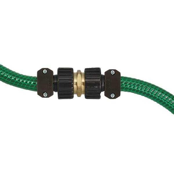 Orbit irrigation  inch brass hose to pipe nipple