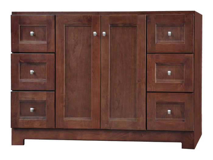 Osage Cabinet Upvr6021 D 60x21 Uptown 2 Door 6 Drawer Vanity At Sutherlands