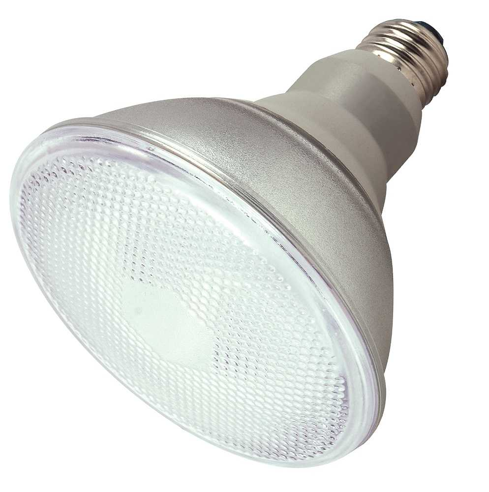 Satco Nuvo Lighting S7202 75 Watt Equivalent Cool White Par38 Reflector Cfl Light Bulb At