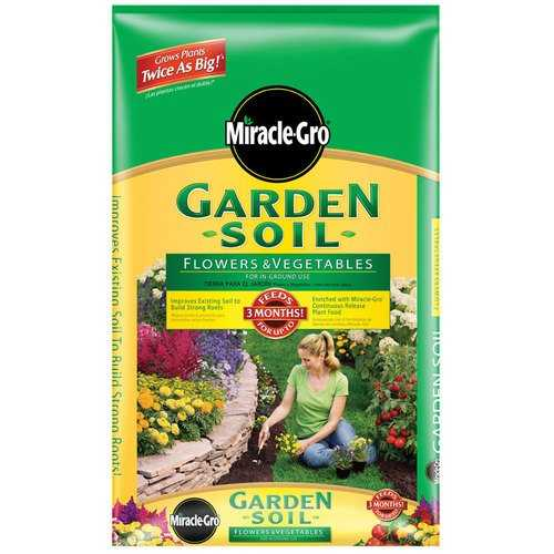 Scotts Miracle Gro 73451300 Garden Soil For Flower Vegetable 1cuft At Sutherlands