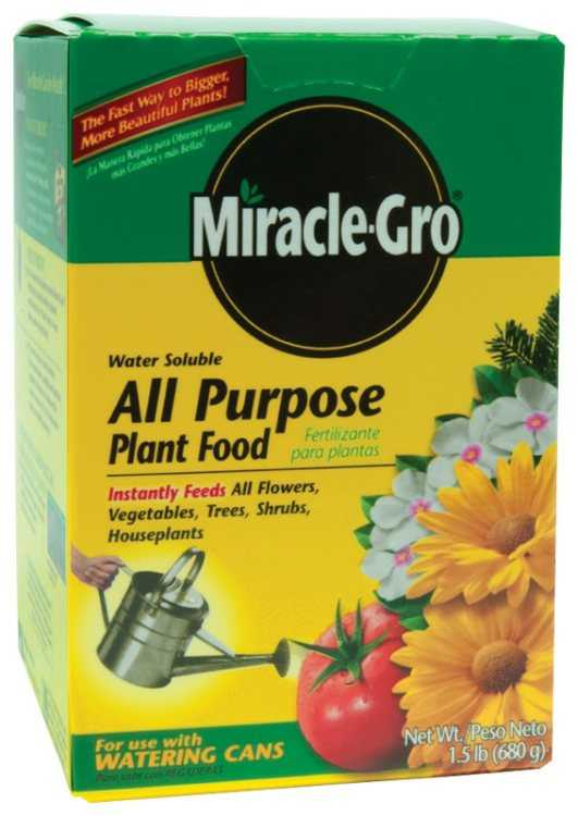 Miracle gro 100112 miracle gro all purpose water soluble Miracle gro all purpose garden soil