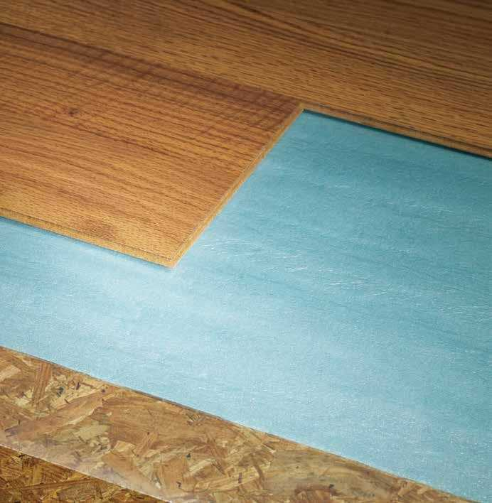 Laminate Flooring Moisture Barrier Concrete Patio Deck Flooring: Shaw HL2N1 Shaw 2-In-1 Polyehylene Foam Underlayment 100 Sq. Ft. Roll At Sutherlands