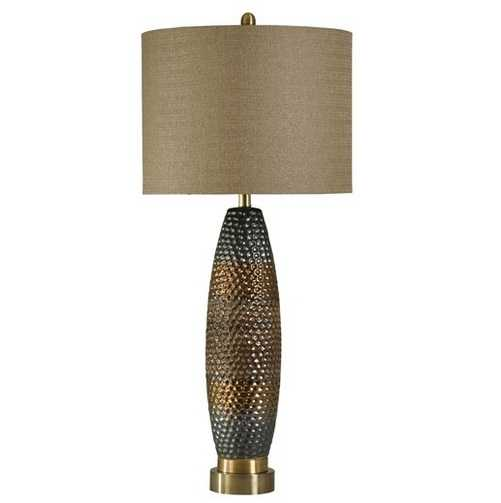 Style Craft Home Collection L39517 Laughlin Finish Ceramic Table Lamp