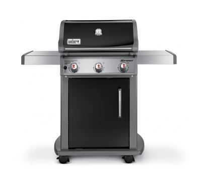 weber grill 46510001 spirit e 310 black lp gas grill at sutherlands. Black Bedroom Furniture Sets. Home Design Ideas
