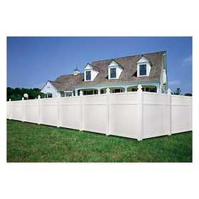 Universal Forest 53181 1x6 Vinyl Privacy Fence Section