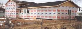 Dry-Line 9X150 9 ft X150 ft Sutherlands Dry-Line Housewrap