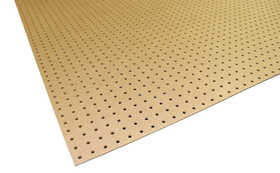 Sutherland Lumber 4X8 4x8 1/8 Tempered Peg Board