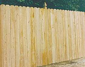 Universal Forest 4628 1x4 Privacy Cedar Fence Section