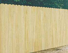 Universal Forest 4455 1x4 in censed Cedar Privacy Fence Section
