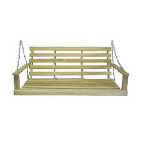 Beecham 55555 Oak Porch Swing 5 ft