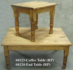 Rustic Pine Furniture 4124 Rustic Pine End Table