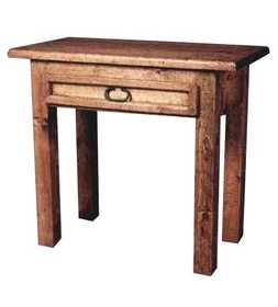 Rustic Pine Furniture 657 Hall Table