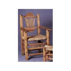 Rustic Pine Furniture 511 Peeled Pine Arm Chair