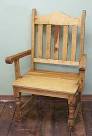 Rustic Pine Furniture 1172 Big Gringo Arm Chair
