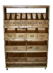 Rustic Pine Furniture 3788ST Easy View Organizer