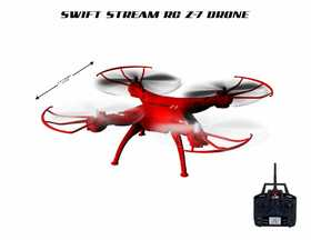 Abrim Enterprise Z-7 Indoor-Outdoor Rc 5 Channel Drone