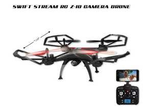 Abrim Enterprise Z-10 Indoor-Outdoor Rc 5 Channel Drone With Wi-Fi And Go Pro Carrier