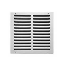 Accord Ventilation ABRGWH1414 Return Air Grille 14x14 White