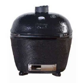 Primo Grills & Smokers 778 Primo Oval Xl Ceramic Charcoal Grill Black