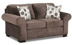 Affordable Furniture 5302 Elizabeth Loveseat In Ash
