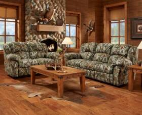 Affordable Furniture 1002 Love Recliner Next Camo