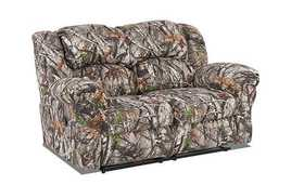 Affordable Furniture 1002 Reclining Loveseat In Next Camo