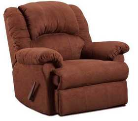 Affordable Furniture 2001 Microfiber Chocolate Recliner
