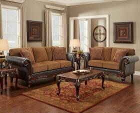Affordable Furniture 8601 Chair Wink Chestnut