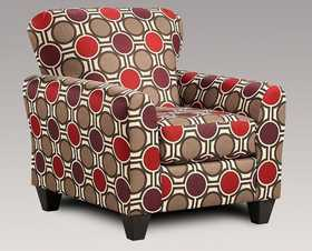 Affordable Furniture 9001 Compassion Claret Accent Chair