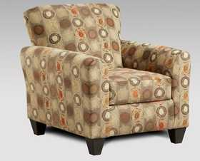 Affordable Furniture 9001 Paint Ball Honey Accent Chair