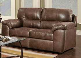 Affordable Furniture 5502 Tucson Loveseat In Sable