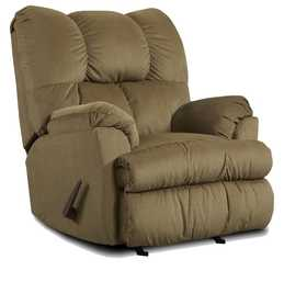 Affordable Furniture 2770 Moab Recliner In Mocha
