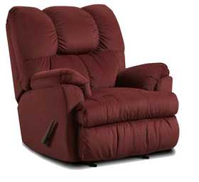 Affordable Furniture 2770 Moab Recliner In Wine