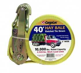 Cargoloc 82298 40 ft Hay Bale Ratchet Tie Down