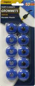 Allied Intl 82473 Plastic Snap On Grommets 10pc