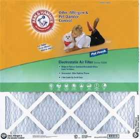 Protect Plus Industries AF-AH1620 16x20x1 In Arm & Hammer Pet Fresh Air Filter